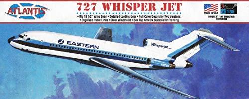 Atlantis 727 Whisper Jet Eastern Airlines 1/96 Plastic Model Kit