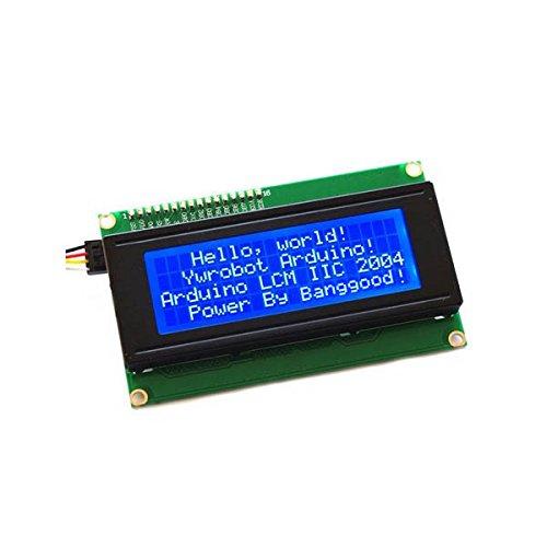 ILS - IIC I2C 2004 204 20x4 LCD blauw voor Arduino
