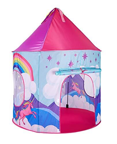 Tienda Tipi Infantil Castillo Plegable Carpa de Juego Fantasía Unicornio Arcoiris Caballo Carpa para Niños Regalos De Cumpleaños Tote Bag