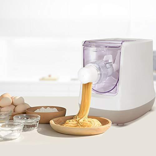 InLoveArts Electric Pasta Maker, 13 Formen Nudelmaschine, LCD-Bildschirm, Automatische Herstellung frischer Nudeln einschließlich Spaghetti, Makkaroni und Knödelhaut in 15 Minuten