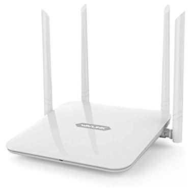 WAVLINK Smart Wireless WiFi Router for Home AC1200 Dual Band High Speed Long Range