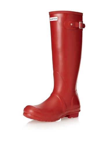 Hunter Original Tall, Botas Unisex, Rojo (red), 40/41 EU