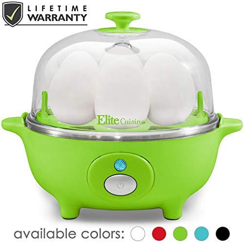 Maxi-Matic EGC-007G Easy Electric Egg Poacher, Omelet, Scrambled, Soft, Medium,...