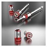 Kit Destornilladores 1/4 Pulgada Hex Destornillador Extraíble Fuerte Anillo Magnético S2 Aleación De Aleación Catcher para 6.35mm bits De Destornillador De Vástago
