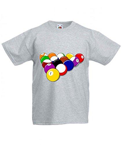Camiseta – Pelotas de piscina – Billar – Juegos – Deportes –...
