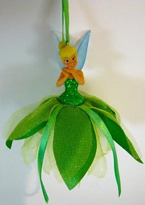 Disney's Peter Pan Rare Collectible Disney World Tinkerbell Christmas Ornament