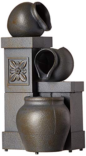 Newport Coast Collections Rustic Vases Color Changing LED Fountain Adapter