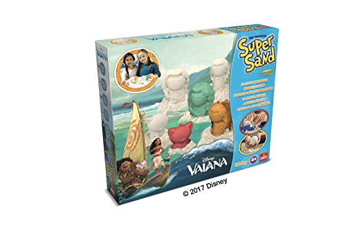 Goliath - Super Sand Disney Vaiana - Loisir créatif - Sable à modeler - 83227.006