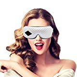 Eye Massager,3D Electric Eye Temple Massager with Heat...