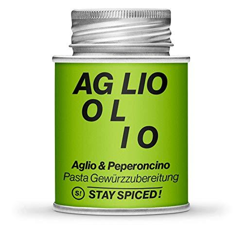 STAY SPICED ! Aglio & Peperoncino Gewürze I In Premiumqualität I 170 ml
