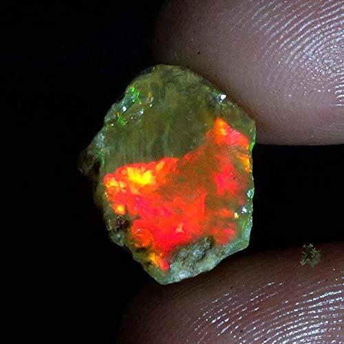 ethiopian opal rough raw opal raw opal stone rough opal stone raw opal ring rough black opal raw opal engagement uncut op02.55Cts. Natural Ethiopian Multi Fire Opal Rough 11x14x03mm. Gemstones SM17-27
