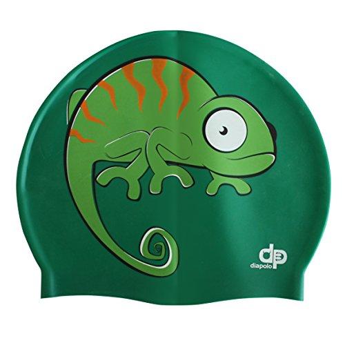 Diapolo Chameleon Cuffia da nuoto Cuffia in silicone per donna, uomo, ragazza e bambino