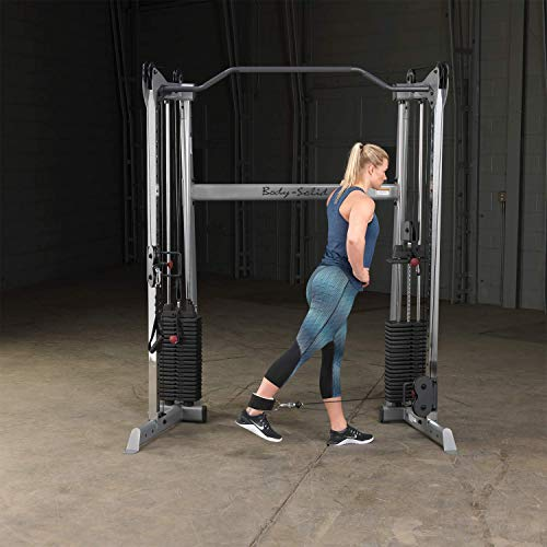 Body-Solid GDCC200 Functional Training Center 200 for Weight Training, Home and Commercial Gym