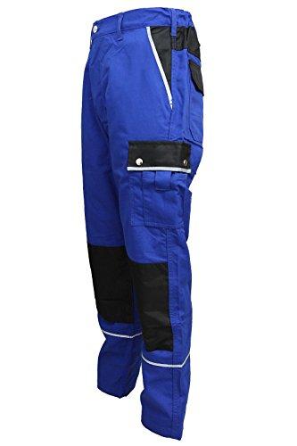 TMG Arbeitshose Bundhose Canvas 320g/m² blau Gr. 50
