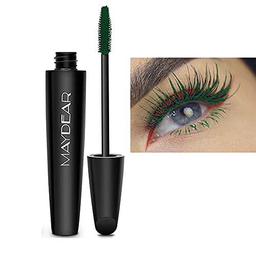 Maydear Makeup Cosmetics Professional Color Mascara-Deep Green