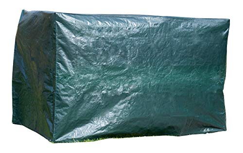 Royal Gardineer Hollywoodschaukel Plane: XL-Abdeckhaube für Hollywood-Schaukel, 250 x 160 x 150 cm, 150 g/m² (Wetterschutz für Hollywoodschaukel)