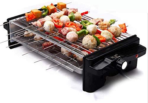 YAYY Nieuwe Koreaanse Stijl BBQ Huishoudelijke Elektrische Barbecue Oven Niet-roken Non-stick Pan Barbecue Machine Dubbele laag Barbecue Grill Keuken Pot(Upgrade)