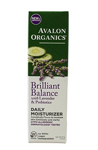 Avalon Organics Lavande Soin hydratant quotidien (1 x 56,7 gram)