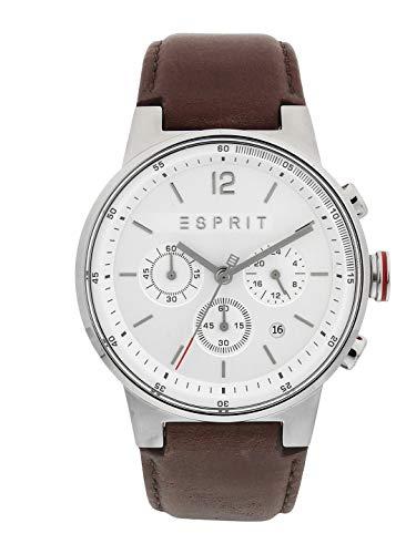 Esprit Herrenuhr Chronograph ES1G025L0015 Equalizer Silver