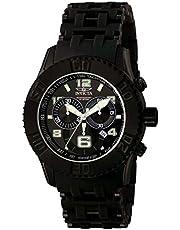 [インビクタ]Invicta 腕時計 Sea Spider メンズ 石英 50mm ケース ブラック ステンレススチール ポリウレタンストラップ ブラックダイヤル 6713 メンズ 【正規輸入品】