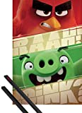 Angry Birds 1art1 Poster (91x61 cm) Roter Vogel Und Grünes