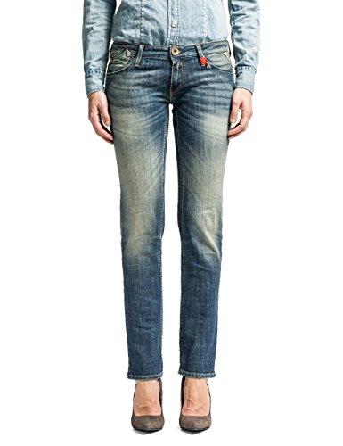 Replay Damen Rockxanne Jeans, Blau (Blue Denim 9), W26/L34 (Herstellergröße: 26)