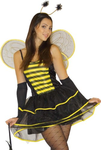 Maylynn 12204 - Costume d'abeille Sexy - 5 pièces - XS (36/38)