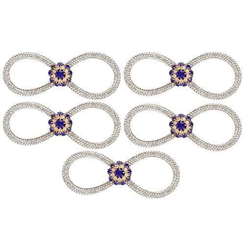 fácil de llevar Diamantes de imitación de pajarita, broche de pajarita, accesorios de joyería sombreros cenas vestidos de novia fiesta escolar oficina para accesorios de ropa