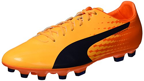 PUMA Herren Evospeed 17 Sl S Ag Fußballschuhe, Gelb (Ultra Yellow-Peacoat-orange Clown Fish 03), 44 EU