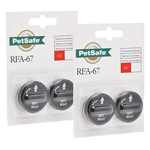 4er Pack Batterie Modul RFA-67D RFA 67D 67 D für Petsafe