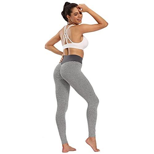 YXDS Pantalones de Yoga Pantalones de Yoga de Cintura Alta para Mujer Pantalones de Entrenamiento para Correr