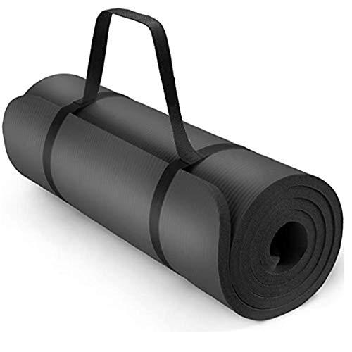 Mosako - Esterilla de ejercicio para yoga, esterilla de pilates, esterilla de gimnasia, 185 x 60 x 1,5 cm o 190 x 100 x 1,5 cm, sin ftalatos y de espuma NBR respetuosa con la piel