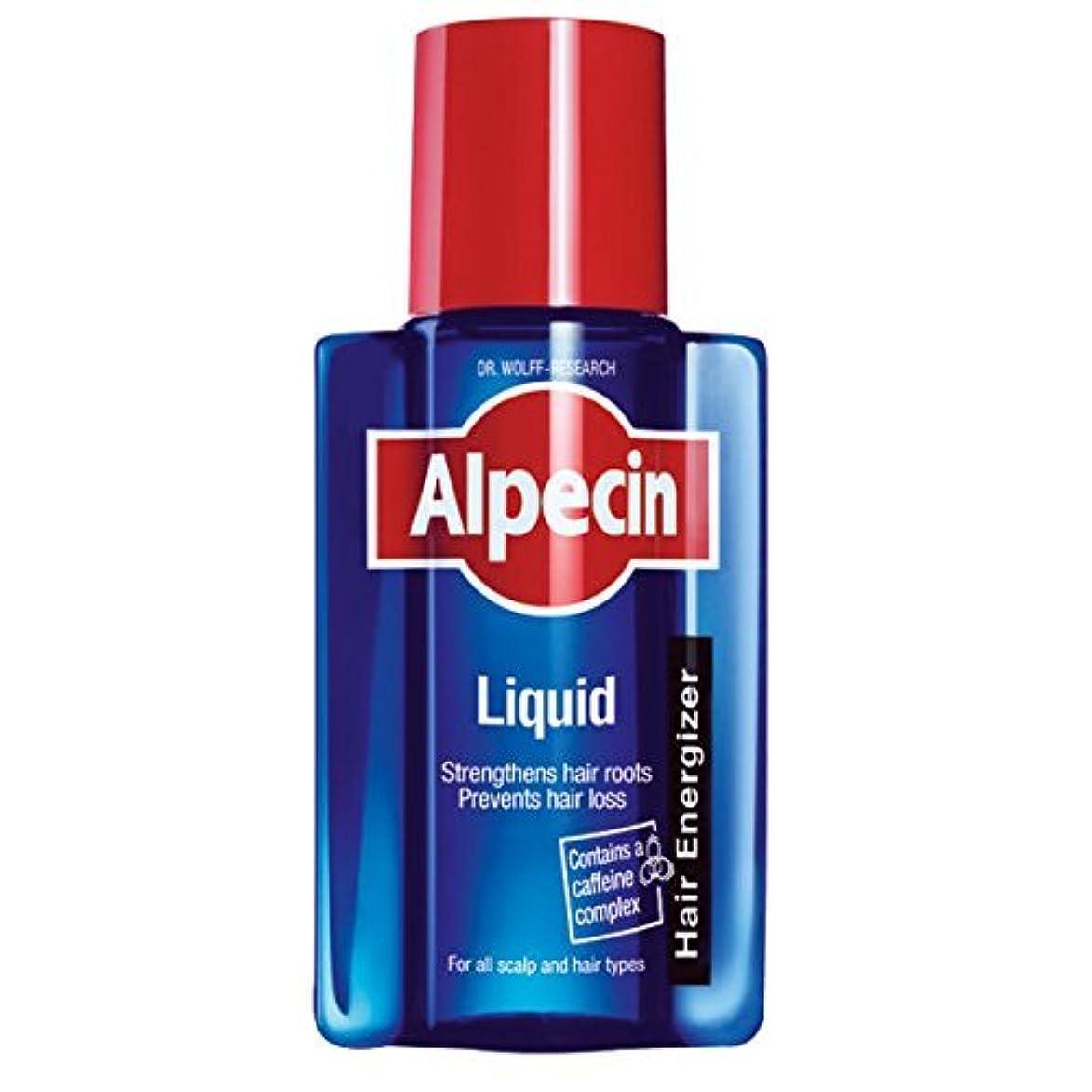 行方不明木材瀬戸際ALPECIN 200ミリリットルの液体カフェインの戦闘遺伝性脱毛