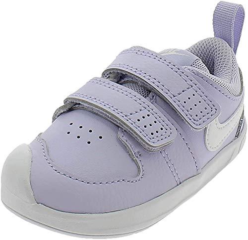 Nike Pico 5, Scarpe da Tennis Unisex-Bambini, Viola (Lavender Mist White 500), 25 EU