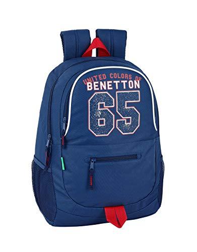 Benetton UCB Boy Oficial Mochila Escolar 320x160x440mm