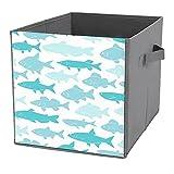 Caja de almacenamiento plegable para cubo de basura, organizador...