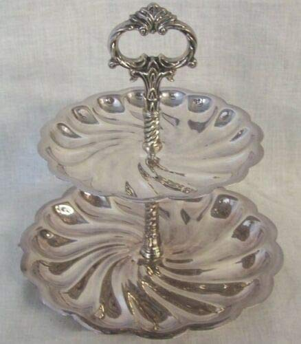 Silverplate Two Tiered Hors d