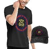 sunminey Homme T- T-Shirt Polos et Chemises USGS Logo Washed Baseball-Cap + T-Shirt Combo Set