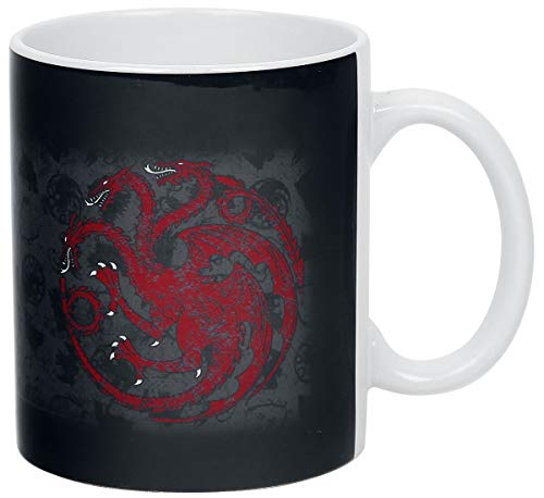 ABYstyle GAME OF THRONES - Taza (320 ml), diseño de fuego y sangre
