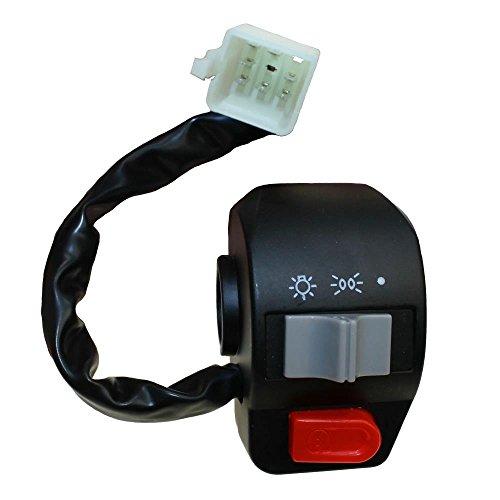 Schalterelement/Schaltereinheit rechts, Bremshebel Halter für 4-Takt China Roller 50ccm wie z.B. Baotian, REX, ATU