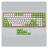 keycaps 116pcs KeyCaps Gungle PBT Dye-Sub KeyCaps para teclados mecánicos Rubber keycaps