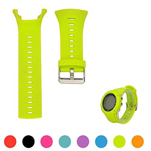 Für Suunto Unisex Ambit 1/2/3 Multisport GPS-Uhr Ersatzband - iFeeker Soft Silikon Ersatz Armbanduhr Armband für Suunto Unisex Ambit 1/2/3 Multisport GPS Smart Watch (Kein Armbanduhr, Ersatzband nur)
