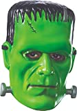Rubie's Men's Universal Monsters Frankenstein Vacuform Adult mask, as Shown, One Size