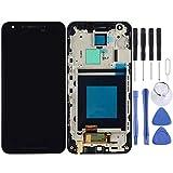 JIANGSHOU For LG Nexus 5X H791 H790 Pantalla LCD Pantalla táctil con Marco (Color : Black)