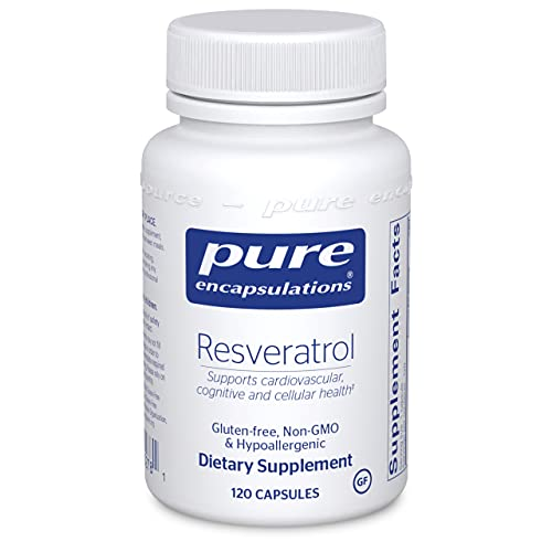 Pure Encapsulations Resveratrol | Supplement to Support Cardiovascular, Cognitive, and Cellular Health* | 120 Capsules