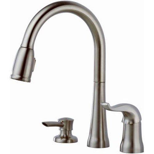 4 Hole Kitchen Faucet Amazon Com