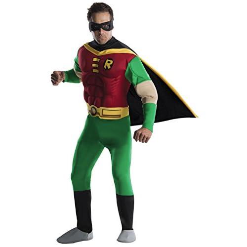 Rubies 3 888078 - Costume per travestimento da Robin, per adulti, Taglia: L