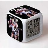 フォートナイト 7色イルミネーション デジタル 目覚し時計 アラーム ハーレイクイン ②