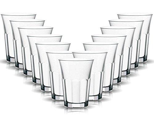 Sienta Sapglazen, 6-delige set, inhoud: 210 ml, één glas voor alle dranken, de perfecte allrounder, sap-waterglazen