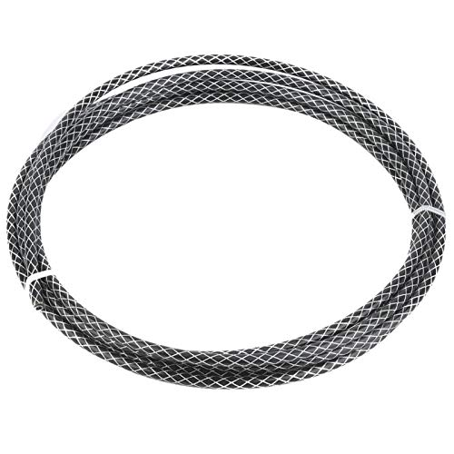 Pwshymi Woven Tube Housing Part High robustness icycle Bike Shift Gear Cable wear-resistant for Home Entertainment(black)
